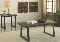 Coaster Tobiah Rustic 3pc Coffee Table Set Available Online in Dallas Fort Worth Texas
