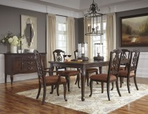 Ashley Gladdenville 7pc Dining Room Set Available Online in Dallas Fort Worth Texas