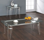 Coaster Amaranth 3pc Chrome Coffee Table... Available Online in Dallas Fort Worth Texas