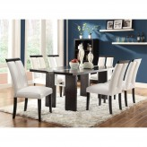 Coaster Kenneth 7pc Black & White Dining Table Set Available Online in Dallas Fort Worth Texas