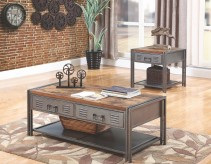 Coaster Costello 3pc Grey Coffee Table Set Available Online in Dallas Fort Worth Texas