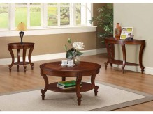 Coaster Sawell 3pc Dark Brown C... Available Online in Dallas Fort Worth Texas