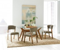 Coaster Paxton 5pc Nutmeg Dining Table Set Available Online in Dallas Fort Worth Texas