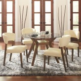 Coaster Paxton 5pc Round Dining Table Set Available Online in Dallas Fort Worth Texas