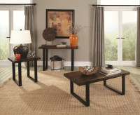 Coaster Yorken 3pc Brown/Black ... Available Online in Dallas Fort Worth Texas