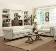 Roy 2pc Oatmeal Sofa & Loveseat Set Available Online in Dallas Fort Worth Texas