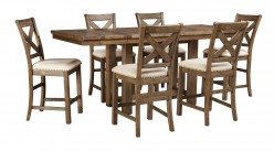 Ashley Moriville 7pc Counter Height Dining Room Set Available Online in Dallas Fort Worth Texas