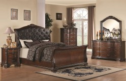Maddison 5pc Cal King Sleigh Bedroom Group Available Online in Dallas Fort Worth Texas