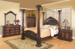 Grand Prado Cal King 5pc Canopy Bedroom Group Available Online in Dallas Fort Worth Texas