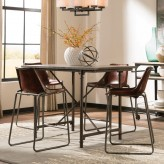 Coaster Antonelli 5pc Counter Height Dining Room Set Available Online in Dallas Fort Worth Texas
