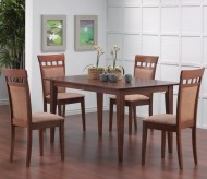 Coaster Leigh 5pc Upholstered Back Dining Room Set Available Online in Dallas Fort Worth Texas