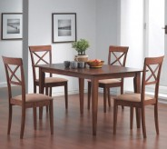 Leigh 5pc Cross Back Dining Room Set Available Online in Dallas Fort Worth Texas