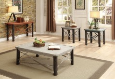 Coaster Garner 3pc Antique White Coffee Table Set Available Online in Dallas Fort Worth Texas