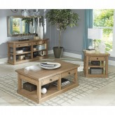 Coaster Florence 3pc Rustic Coffee Table Set Available Online in Dallas Fort Worth Texas