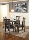 Ashley Hammis 5pc Dark Brown Dining Table Set Available Online in Dallas Fort Worth Texas