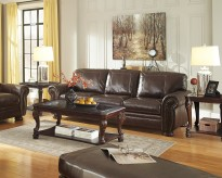 Norcastle 3pc Dark Brown Coffee Table Set Available Online in Dallas Fort Worth Texas