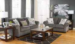 Ashley Grinlyn 3pc Rustic Brown Coffee Table Set Available Online in Dallas Fort Worth Texas