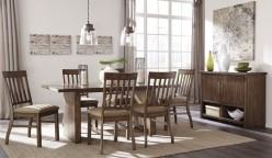 Ashley Zilmar 7pc Brown Dining Table Set Available Online in Dallas Fort Worth Texas