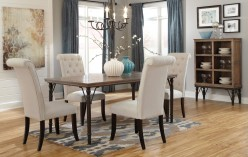 Ashley Tripton 5pc Medium Brown Dining Table Set Available Online in Dallas Fort Worth Texas