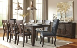 Ashley Trudell 9pc Rectangular Dining Table Set Available Online in Dallas Fort Worth Texas