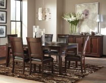 Ashley Shadyn 7pc Brown Dining Table Set Available Online in Dallas Fort Worth Texas