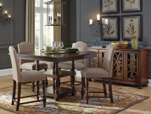 Ashley Baxenburg 5pc Counter Height Dining Room Set Available Online in Dallas Fort Worth Texas