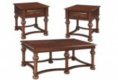 Ashley Beisterfield 3pc Brown Coffee Table Set Available Online in Dallas Fort Worth Texas