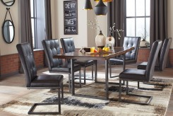 Ashley Esmarina 7pc Brown Dining Table Set Available Online in Dallas Fort Worth Texas