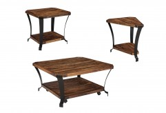 Ashley Taddenfeld 3pc Medium Brown Coffee Table Set Available Online in Dallas Fort Worth Texas
