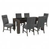 Ashley Chansey 7pc Grey Dining Table Set Available Online in Dallas Fort Worth Texas