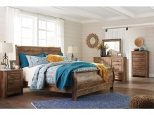 Ashley Blaneville 5pc King Sleigh Bedroom Group Available Online in Dallas Fort Worth Texas