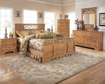 Ashley Bittersweet 5pc Queen Panel Bedroom Group Available Online in Dallas Fort Worth Texas