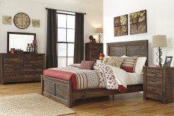 Quinden 5pc Queen Panel Bedroom Group Available Online in Dallas Fort Worth Texas