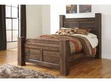 Ashley Quinden Queen Poster Bed Available Online in Dallas Fort Worth Texas