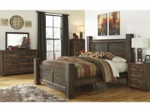 Quinden 5pc King Poster Bedroom Group Available Online in Dallas Fort Worth Texas