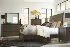 Ashley Camilone 5pc King Upholstered Panel Bedroom Group Available Online in Dallas Fort Worth Texas