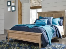 Ashley Klasholm Light Brown Full Panel Bed Available Online in Dallas Fort Worth Texas