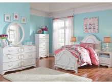 Ashley Korabella 5pc Twin Panel Bedroom Group Available Online in Dallas Fort Worth Texas