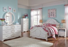 Ashley Korabella 5pc Full Panel Bedroom Group Available Online in Dallas Fort Worth Texas