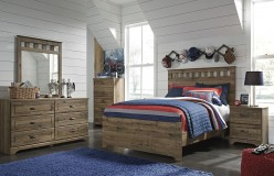 Ashley Brobern 5pc Full Panel Bedroom Group Available Online in Dallas Fort Worth Texas