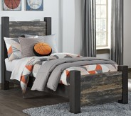 Ashley Westinton Twin Poster Bed Available Online in Dallas Fort Worth Texas