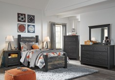 Ashley Westinton 5pc Twin Poster Bedroom Group Available Online in Dallas Fort Worth Texas