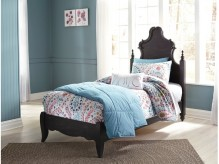 Ashley Corilyn Dark Brown Twin Bed Available Online in Dallas Fort Worth Texas