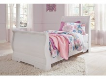 Ashley Anarasia Twin Sleigh Bed Available Online in Dallas Fort Worth Texas