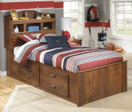 Barchan Full Under Bed Storage with Side Rail Bed Available Online in Dallas Fort Worth Texas