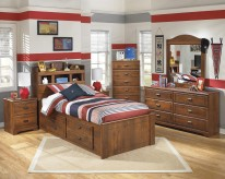 Barchan 5pc Full Under Bed Storage with Side Rail Bedroom Group Available Online in Dallas Fort Worth Texas
