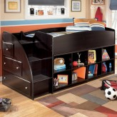 Ashley Embrace Twin Loft Bookcase Bunk Bed Available Online in Dallas Fort Worth Texas