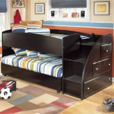 Ashley Embrace Twin Loft With Right Storage Steps Bunk Bed Available Online in Dallas Fort Worth Texas