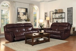 Homelegance Spruce 2pc Brown Double Reclining Sofa & Loveseat Set Available Online in Dallas Fort Worth Texas