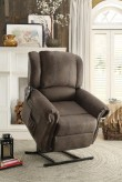 Homelegance lola Dark Brown Power Lift Chair Available Online in Dallas Fort Worth Texas